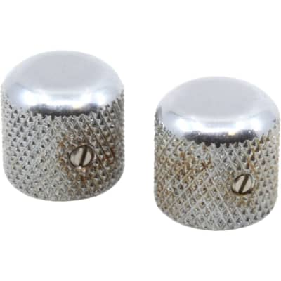 Fender 099-7211-000 Road Worn Telecaster Knurled Dome Knobs (2)
