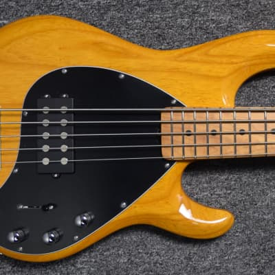 Ernie Ball Music Man StingRay 5 H Special, Classic Natural/Roasted Maple FB. *LAST Natural available
