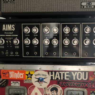 AIMS Professional Vocal Sound System Black for sale