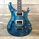 Paul Reed Smith McCarty 594 Semi-Hollow Limited 2019 River Blue 10-Top Maple
