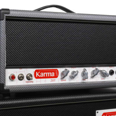 Karma 20T Amp Head - Hand crafted in the heart of Wine Country, Ca.