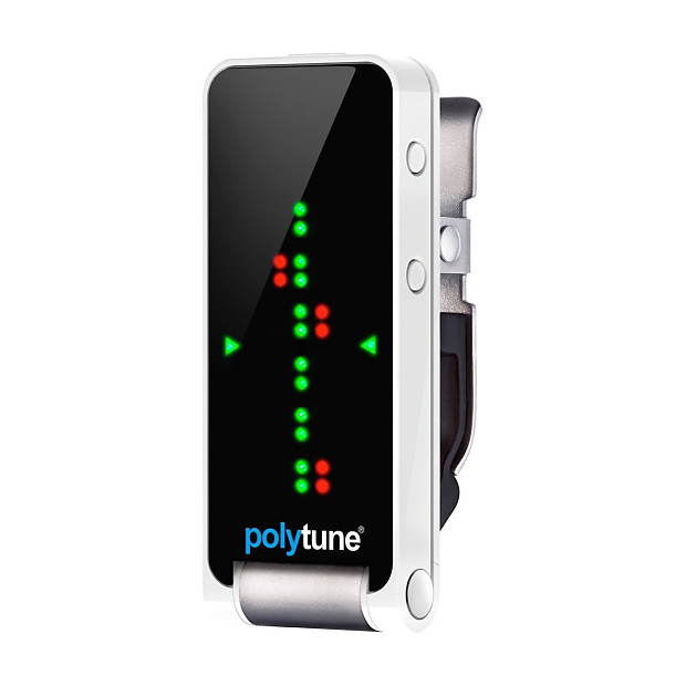 tc electronic polytune polyphonic clip on tuner zzounds reverb. Black Bedroom Furniture Sets. Home Design Ideas