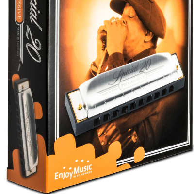 Hohner 560PBX-DF Progressive Special 20 Key of C Sharp / D Flat Boxed Package Harmonica