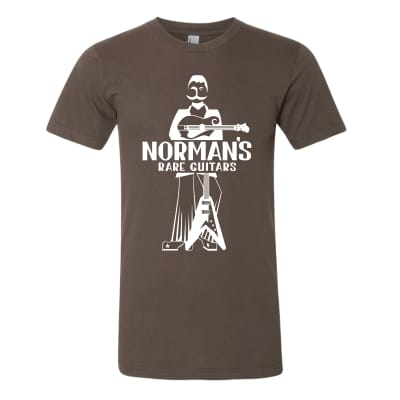 Norman's Logo Brown S