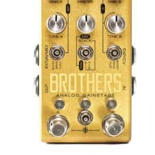 Chase Bliss Brothers Analog Gainstage Effect Pedal