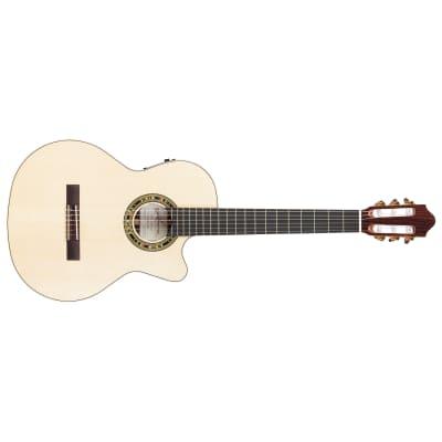 Kremona Fiesta F65CW-SB Classical Acoustic Electric Guitar, German Spruce Top for sale