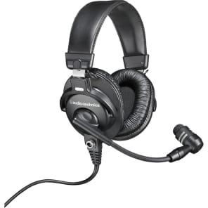 Audio-Technica BPHS1 Broadcast Stereo Headset Headphones/Dynamic Cardioid Microphone