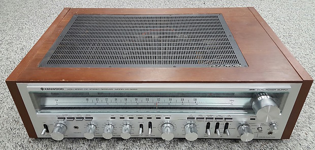 Kenwood KR-9050 Stereo Receiver Silverface | Record Head