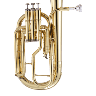 John Packer JP072 Key of Eb Tenor Horn w/Sturdy Case, Mouthpiece & Ultra Pure Valve Oil
