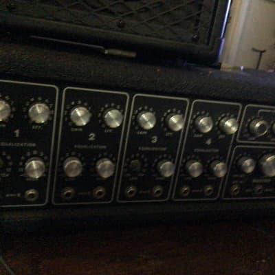 Peavey USA Made 260H Powered PA Mixer Head Vintage 70's Black