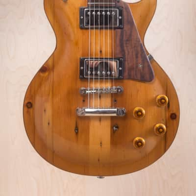 Strack Guitars Handmade Les Paul Rustic reclaimed for sale