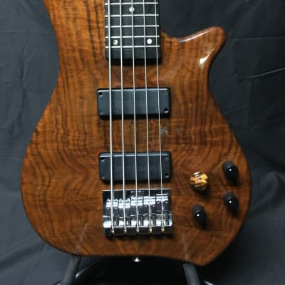 Zon Legacy Elite 5 String  1994 Natural Walnut for sale