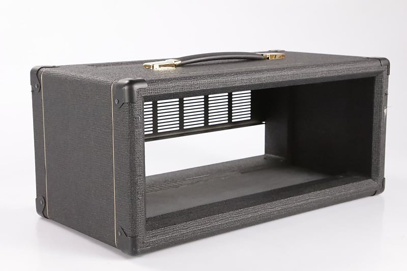 orange dual dark guitar amplifier amp empty head cabinet fall reverb. Black Bedroom Furniture Sets. Home Design Ideas