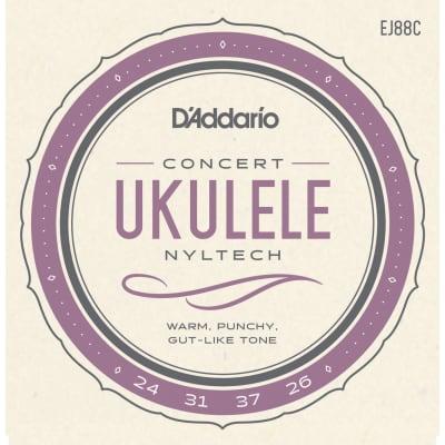D'Addario EJ88C Nyltech Ukulele Concert