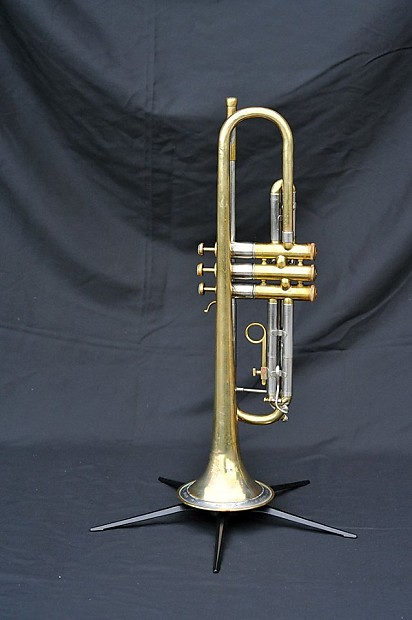 Olds Super Recording Trumpet 1947 Raw Brass