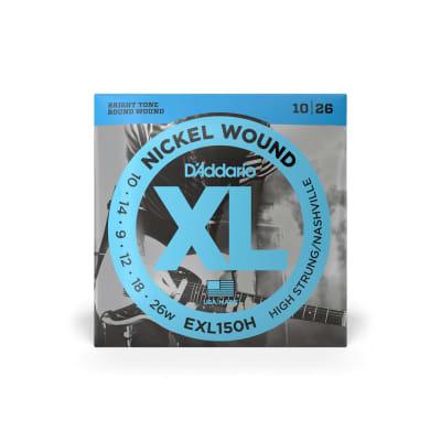 D'Addario EXL150H High-Strung Guitar Strings 10-25
