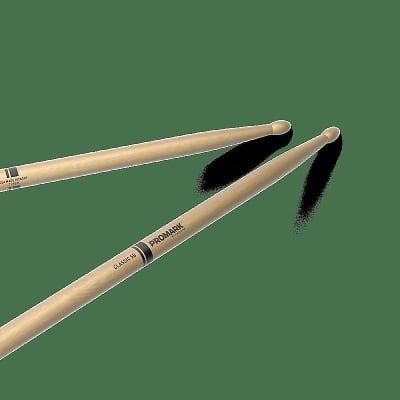 Pro-Mark TX5BW Classic 5B Wood Tip (Pair) Drum Sticks
