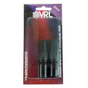 VRL VRLDMXTERMINATOR 3-Pin, 5-Pin DMX Terminator Set