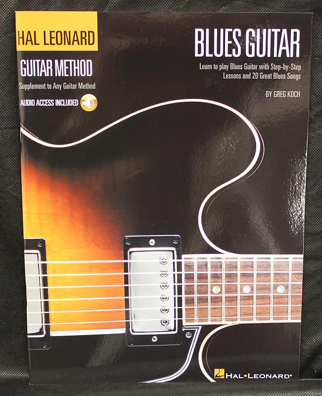 Hal Leonard Blues Guitar Method Instructional Book Audio Online