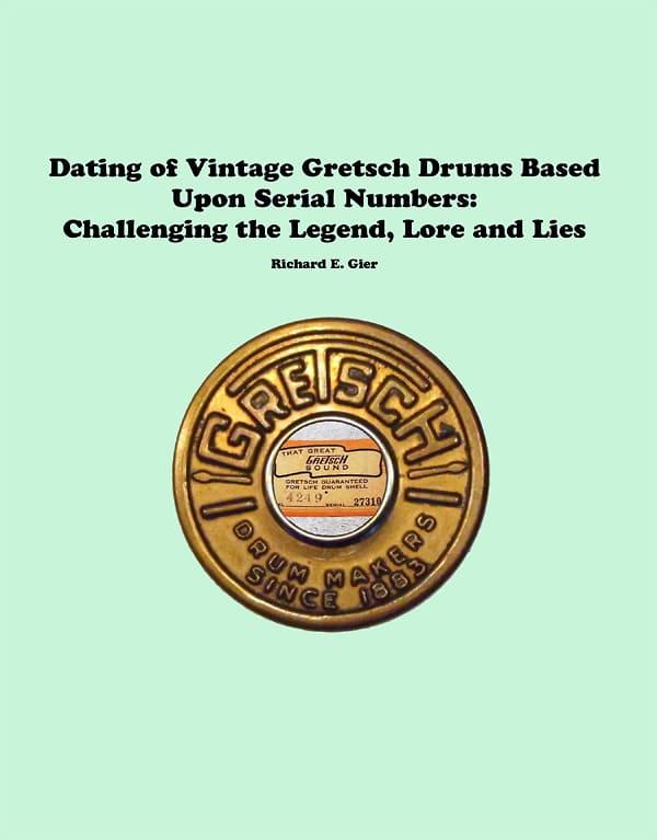 how to find serial numbers on vintage drums