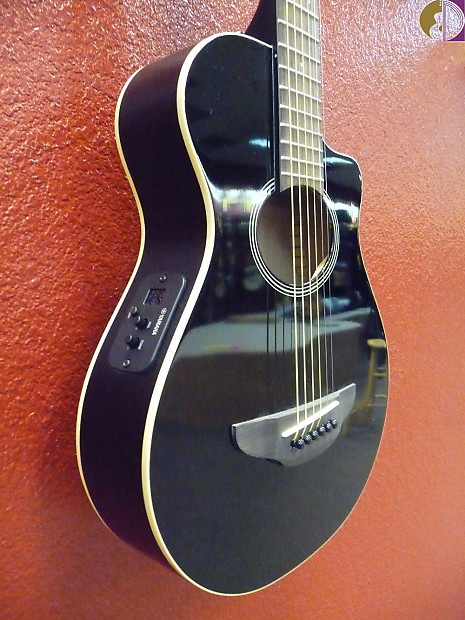 Yamaha Apxt2 3 4 Size Acoustic Electric Guitar Black Gig