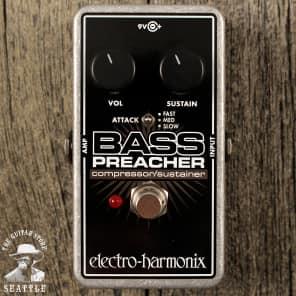 Electro-Harmonix Bass Preacher Compressor & Sustainer