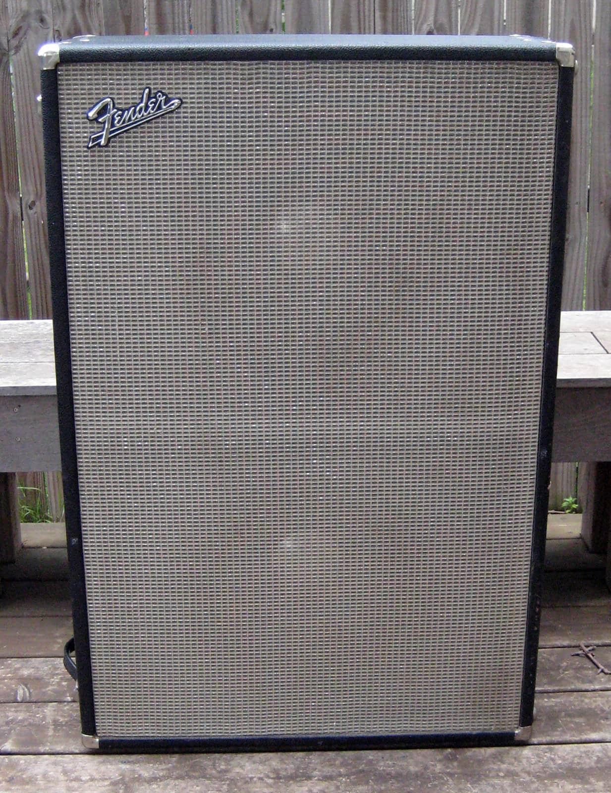 Vintage Late 1960s Fender Bassman 2x15 Quot Cabinet Jbl