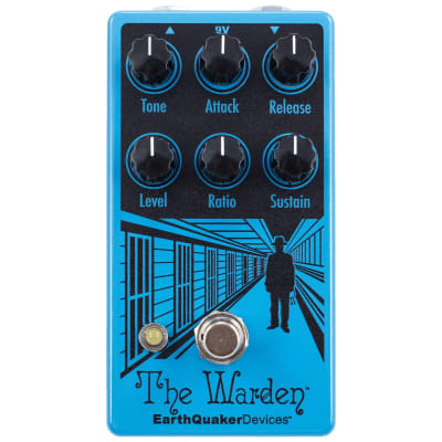 Earthquaker The Warden V2 Compressor Pedal for sale