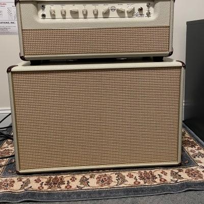 Mesa Boogie California Tweed Head and 2X12 Speaker Cabinet 2021 Blonde