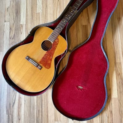 1947 Kay K16 Super Grand Auditorium Flattop Spruce & Mahogany Natural with Original Case for sale