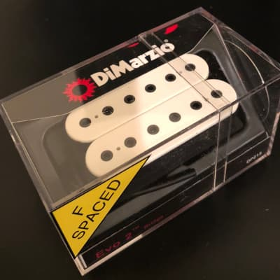 Pleasant Dimarzio Fred White F Spaced Bridge Pickup W Free Priority Reverb Wiring Digital Resources Ommitdefiancerspsorg