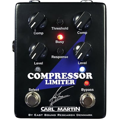 Carl Martin Andy Timmons Signature Compressor Limiter Guitar Effects FX Pedal