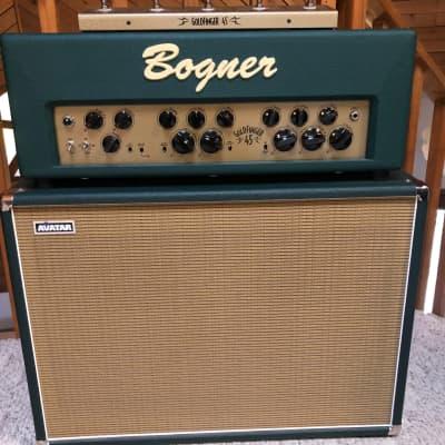 Bogner Goldfinger 45 2-Channel Guitar Amp & 2x12 Avatar Speaker Cabinet for sale