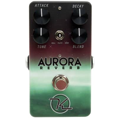 Keeley Electronics Aurora Reverb Digital Reverb Effects Pedal