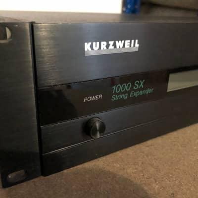 Kurzweil 1000SX Vintage String Expander RARE 1996 Black
