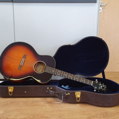 Peerless PGC65 Sunburst 2008 Jumbo Acoustic Guitar Read Description for sale