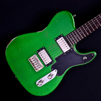 Shabat Guitars - Lion HB -  Candy Apple Green for sale