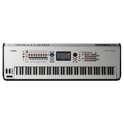 Yamaha Montage 8 Synthesizer - White