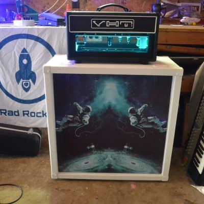 Rad Rocket Custom - Peavey JSX Slant 4 x 12 - Joe Satriani