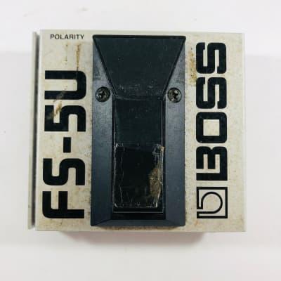 Boss FS-5U Unlatching Footswitch  *Sustainably Shipped*