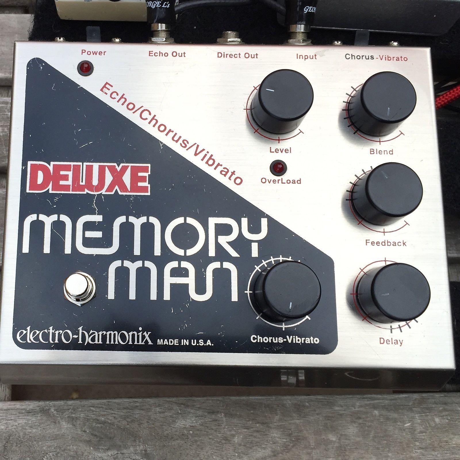 Brand NEW EHX Electro Harmonix Deluxe Memory Man