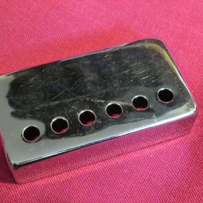 vintage 1966 gibson chrome paf pickup cover for es 335 175 sg 1965 1967 les  paul