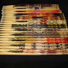 Hotsticks Artisticks 12 Pair Size 5B NYLON Tip Drum Sticks image