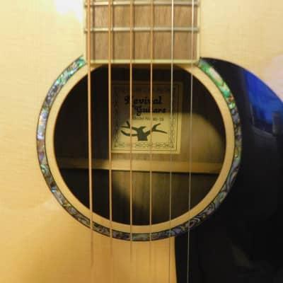 Revival Guitars RG-25 Spruce Top, Black Walnut Back/Sides, OO- Thin Body, Maple Binding, Chrome Mini for sale