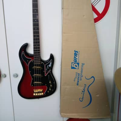 BURNS Marquee Bass Club Series 2000  2000-2003 Redburst NOS for sale
