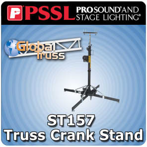 Global Truss ST-157 Medium Duty Crank Stand w/ Outriggers