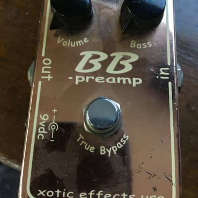 xotic BB Preamp Copper Limited edition