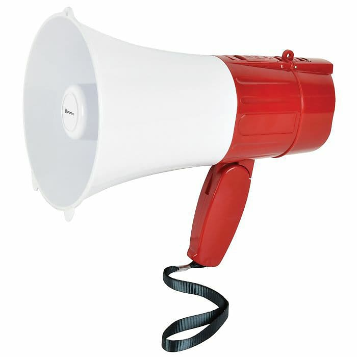 Adastra L15RC Rechargeable Megaphone With USB//Micro SD Player /& Loop Recorder