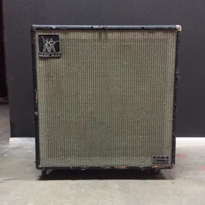 "Music Man 412 B 130-Watt 4x12"" Bass Speaker Cabinet 1974 - 1984"