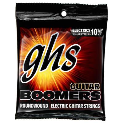 GHS Boomers Medium Light+ 10 1/2 - 48 Electric Guitar Strings (GB10 1/2)